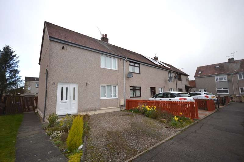 2 Bedrooms Property for sale in Gracie Crescent, Fallin, STIRLING, FK7