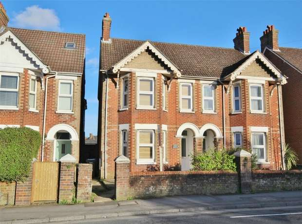 3 Bedrooms Semi Detached House for sale in Wimborne Road, Poole, POOLE, Dorset