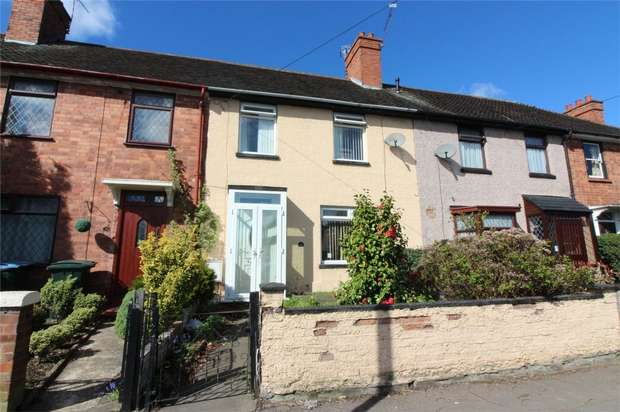 2 Bedrooms Terraced House for sale in Engleton Road, Radford, Coventry