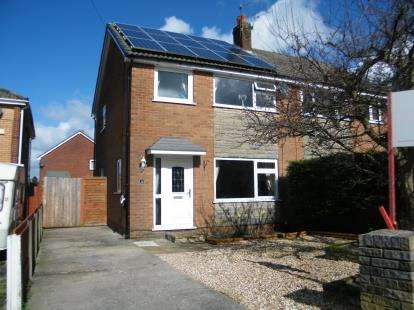 3 Bedrooms Semi Detached House for sale in St. Christines Avenue, Farington, Leyland, PR25