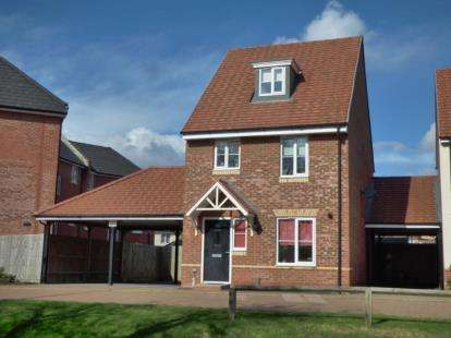 3 Bedrooms Detached House for sale in Grenada Crescent, Newton Leys, Bletchley, Milton Keynes