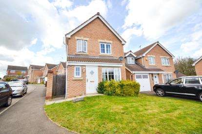 3 Bedrooms Detached House for sale in Wilkie Road, Wellingborough, Northamptonshire, England