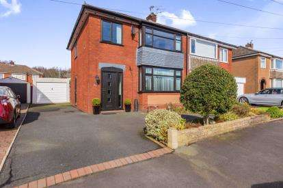 3 Bedrooms Semi Detached House for sale in Selkirk Drive, Walton-Le-Dale, Preston, Lancashire