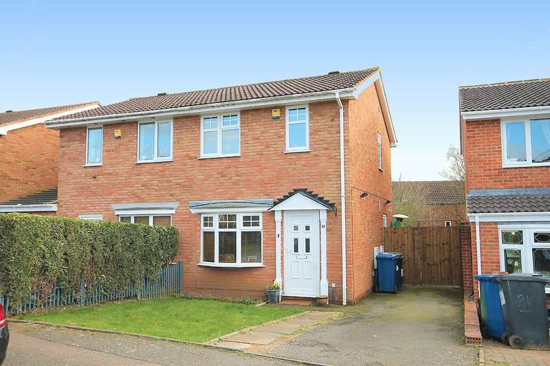 2 Bedrooms Semi Detached House for sale in Loughshaw, Wilnecote, Tamworth, B77 4LY