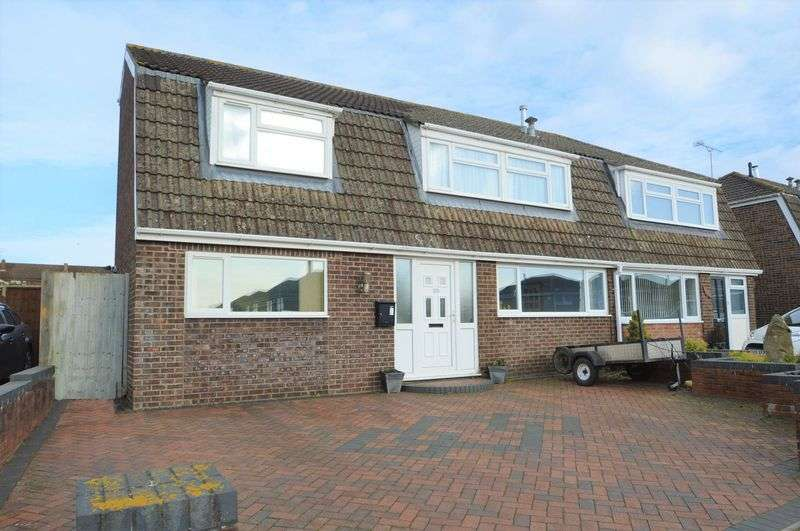 4 Bedrooms Semi Detached House for sale in Popular road not far from Yatton Village centre