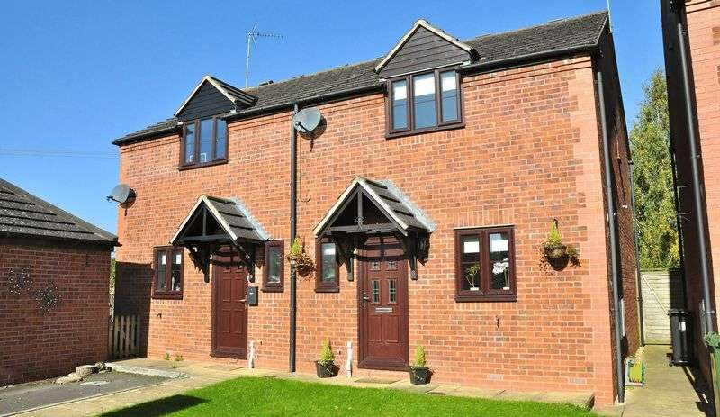 3 Bedrooms Semi Detached House for sale in Bridge Meadow Close, Sedgeberrow, Evesham, WR11 7FJ