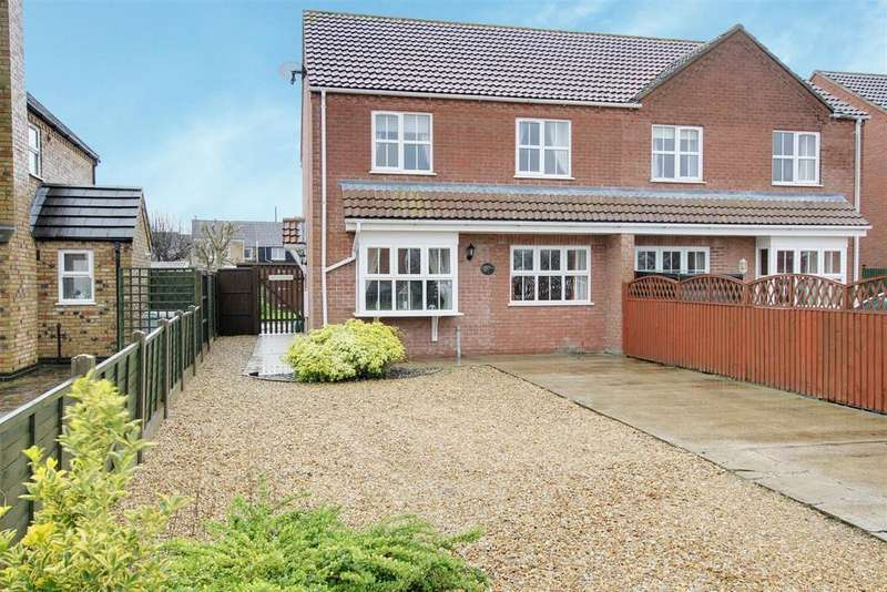 3 Bedrooms Semi Detached House for sale in 26a Tothby Meadows, Alford