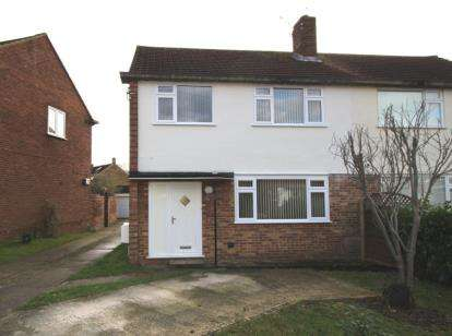 3 Bedrooms Semi Detached House for sale in Long Ridings Avenue, Hutton, Brentwood, Essex