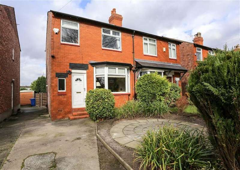 3 Bedrooms Semi Detached House for sale in Nangreave Road, Offerton, Stockport
