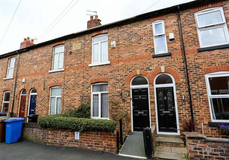 2 Bedrooms Terraced House for sale in Florist Street, Shaw Heath, Stockport