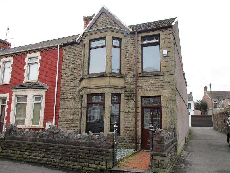 3 Bedrooms End Of Terrace House for sale in Tanygroes Street, Port Talbot, Neath Port Talbot.