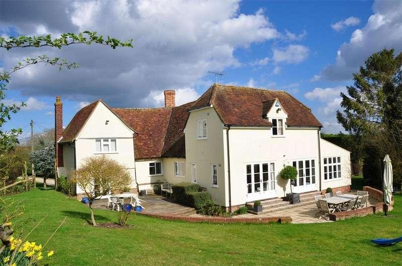 6 Bedrooms Detached House for sale in Slough Farm, Debden, Nr Saffron Walden