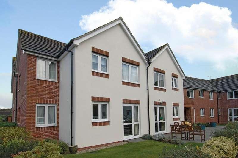 2 Bedrooms Retirement Property for sale in Buckingham Court, Shrubbs Drive, Middleton-on-Sea, Bognor Regis, PO22