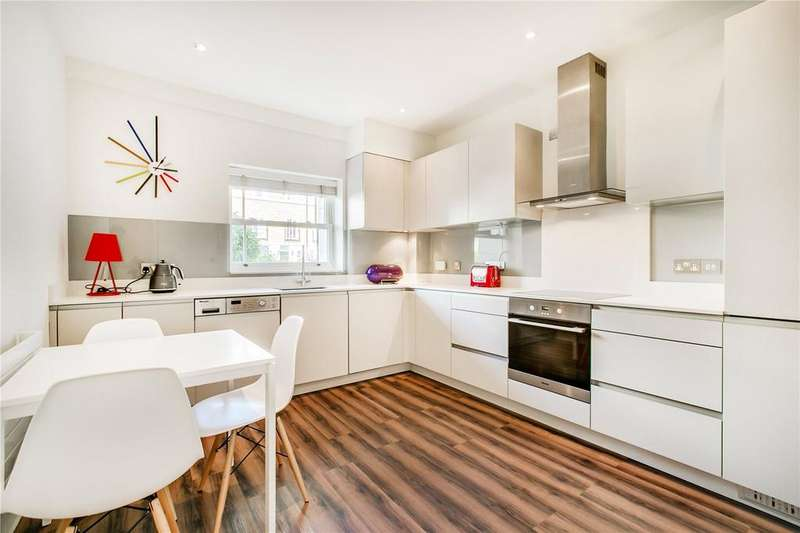 2 Bedrooms Flat for sale in Trinity Church Road, Barnes, London