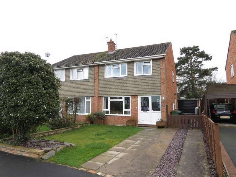 3 Bedrooms Semi Detached House for sale in Brookfield, Bayston Hill, Shrewsbury, Shropshire