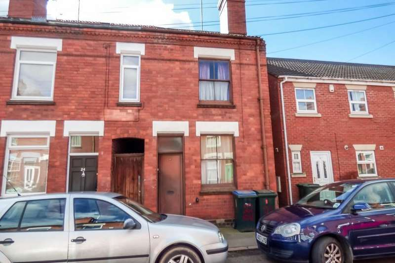 2 Bedrooms Terraced House for sale in Mowbray Street, Stoke