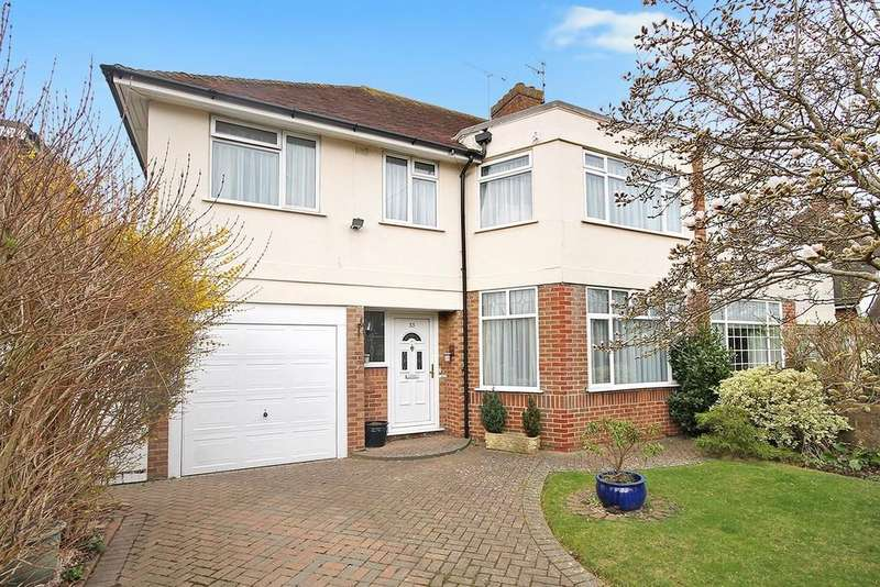 4 Bedrooms Semi Detached House for sale in Robson Road, Goring-by-sea BN12 4EE