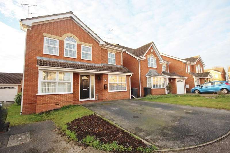 5 Bedrooms Detached House for sale in Crabtree Way, Dunstable, LU6