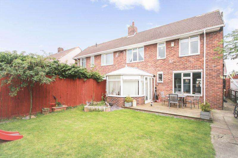 2 Bedrooms Semi Detached House for sale in Raunds Avenue, Roseworth, Stockton, TS19 9BN