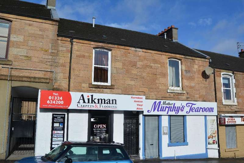 1 Bedroom Flat for sale in Ladysmill, Falkirk, Falkirk, FK2 9AU