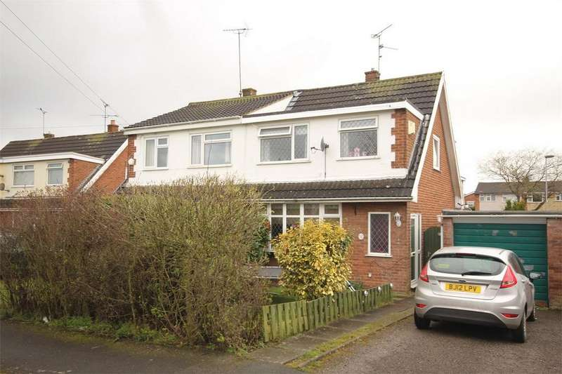 3 Bedrooms Semi Detached House for sale in Delamere Avenue, Buckley, Flintshire