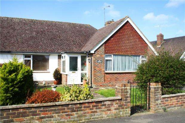 2 Bedrooms Semi Detached Bungalow for sale in Parry Drive, Rustington, West Sussex, BN16