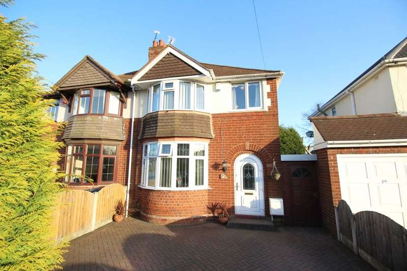 3 Bedrooms Semi Detached House for sale in Poplar Avenue, Wolverhampton, WV11