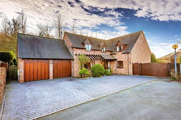 5 Bedrooms Detached House for sale in 3 Woodhouse Lane, Priorslee, Telford, Shropshire