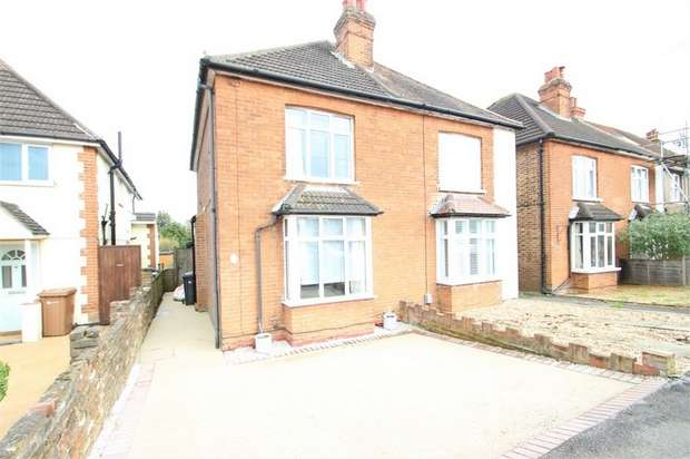 2 Bedrooms Semi Detached House for sale in Worplesdon Road, GUILDFORD, Surrey