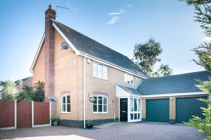 4 Bedrooms Detached House for sale in Johnson Way , Lowestoft
