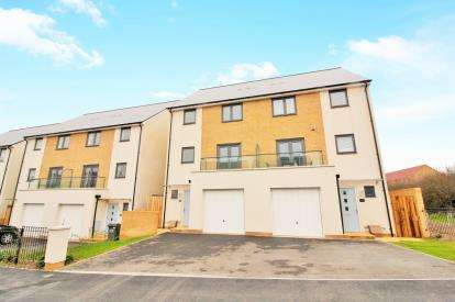 4 Bedrooms Semi Detached House for sale in Willowherb Road, Emersons Green, Bristol