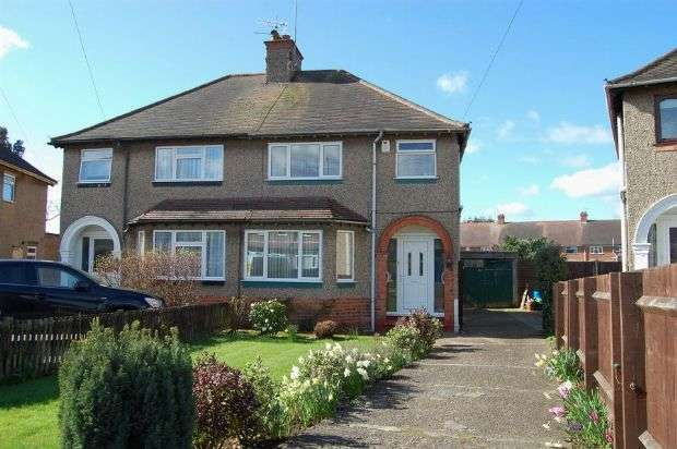 3 Bedrooms Semi Detached House for sale in Beverley Crescent, The Headlands, Northampton NN3 2PX