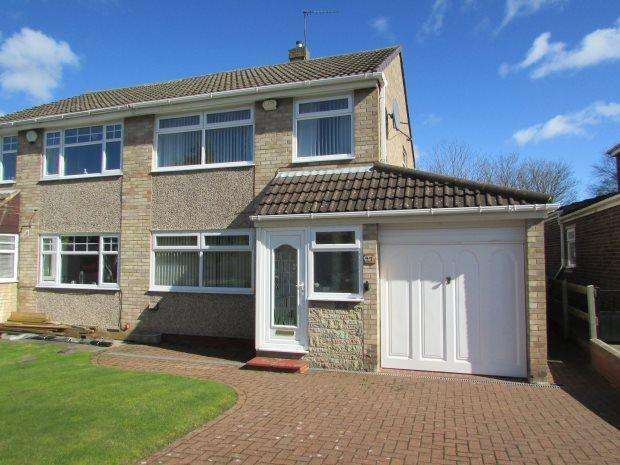 3 Bedrooms Semi Detached House for sale in FARNDALE, SPENNYMOOR, SPENNYMOOR DISTRICT