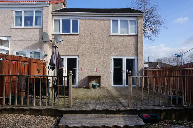 3 Bedrooms Semi Detached House for sale in Glencairn Road, Kildrum, Cumbernauld G67