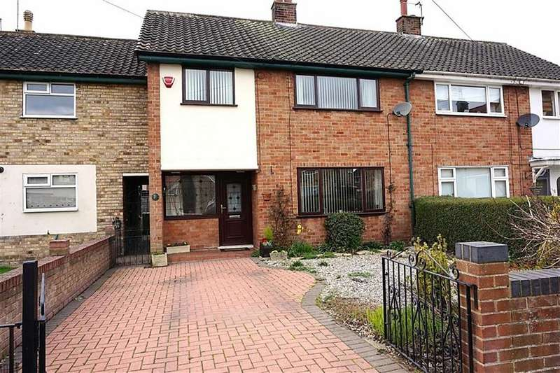 3 Bedrooms Terraced House for sale in Wauldby Close, Anlaby, Anlaby, HU10