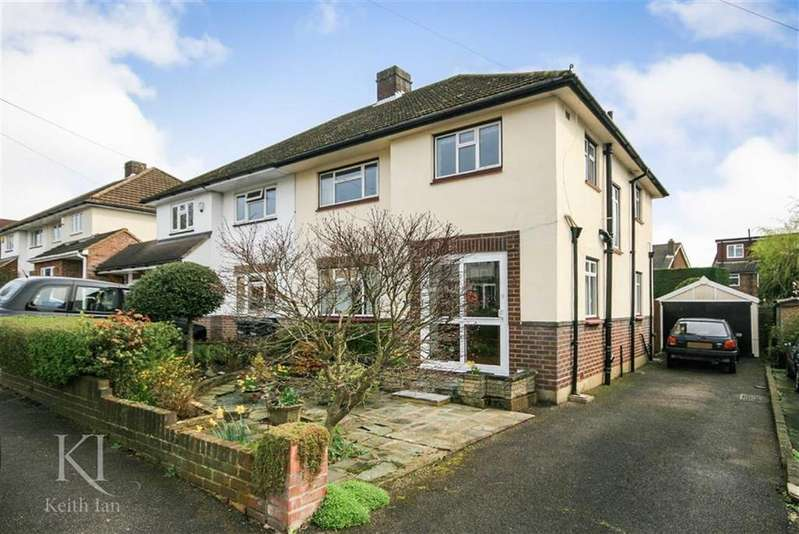 3 Bedrooms Semi Detached House for sale in Mountview Road, West Cheshunt