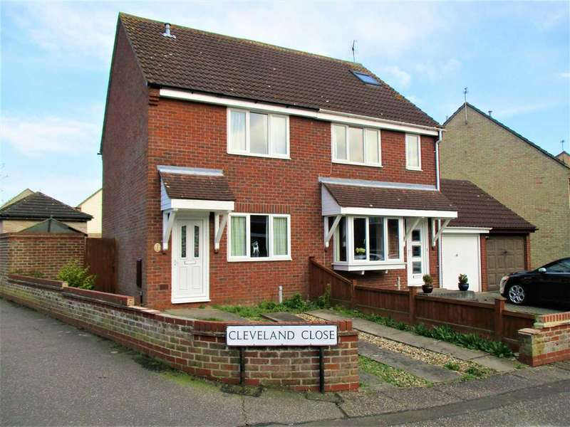 2 Bedrooms Semi Detached House for sale in Cleveland Close, Colchester