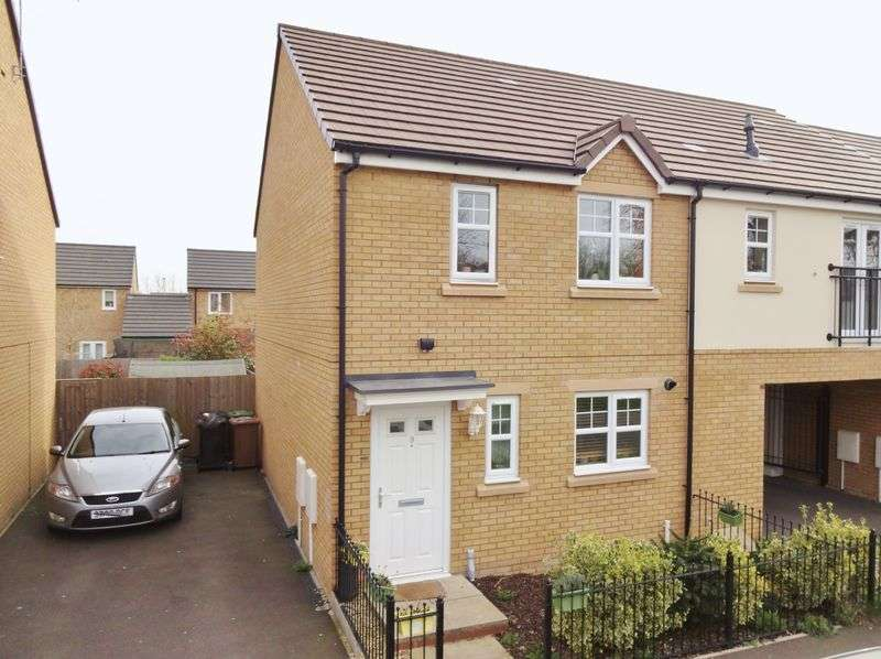 3 Bedrooms Terraced House for sale in Redgrave Drive, Corby