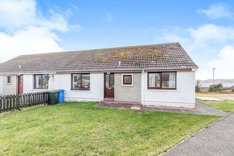2 Bedrooms Semi Detached Bungalow for sale in Pier Road, Aultbea, ACHNASHEEN, IV22
