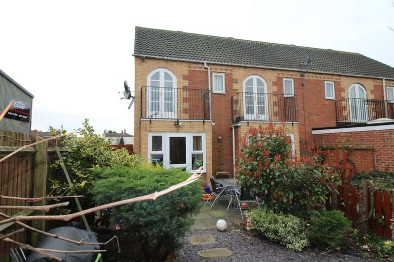2 Bedrooms Semi Detached House for sale in Annies Wharf, Loughborough, LE11