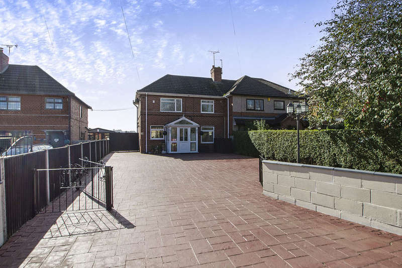 3 Bedrooms Semi Detached House for sale in Belper Road, Stanley Common, Ilkeston, DE7