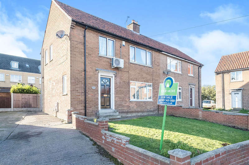3 Bedrooms Semi Detached House for sale in Norwood Crescent, Kiveton Park, Sheffield, S26