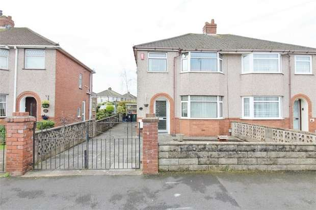 3 Bedrooms Semi Detached House for sale in Hampshire Crescent, NEWPORT