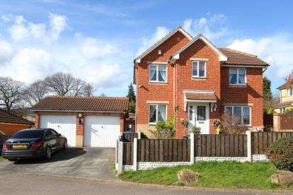 4 Bedrooms Detached House for sale in Dixon Croft, New Whittington, Chesterfield, Derbyshire