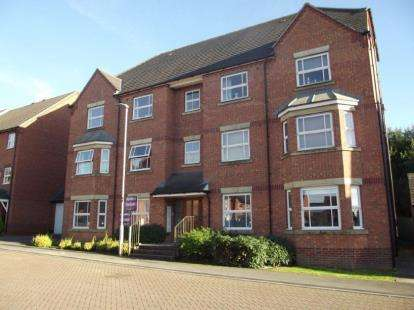 2 Bedrooms Flat for sale in Staples Drive, Coalville