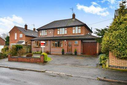 5 Bedrooms Detached House for sale in Longdale Avenue, Ravenshead, Nottingham, Nottinghamshire