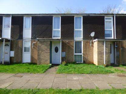 3 Bedrooms Terraced House for sale in Pell Court, Lumbertubs, Northampton, Northamptonshire