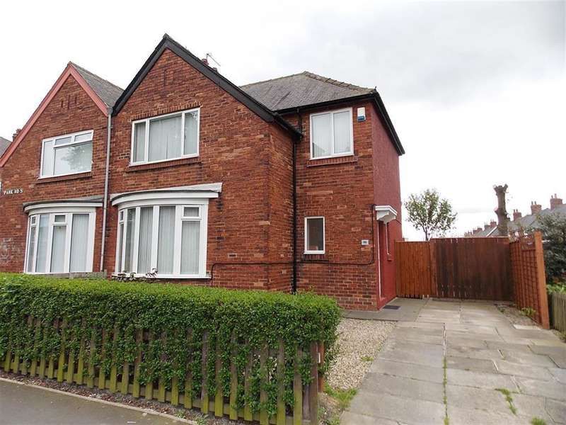 3 Bedrooms Semi Detached House for sale in Park Road South, Middlesbrough,TS4 2RA