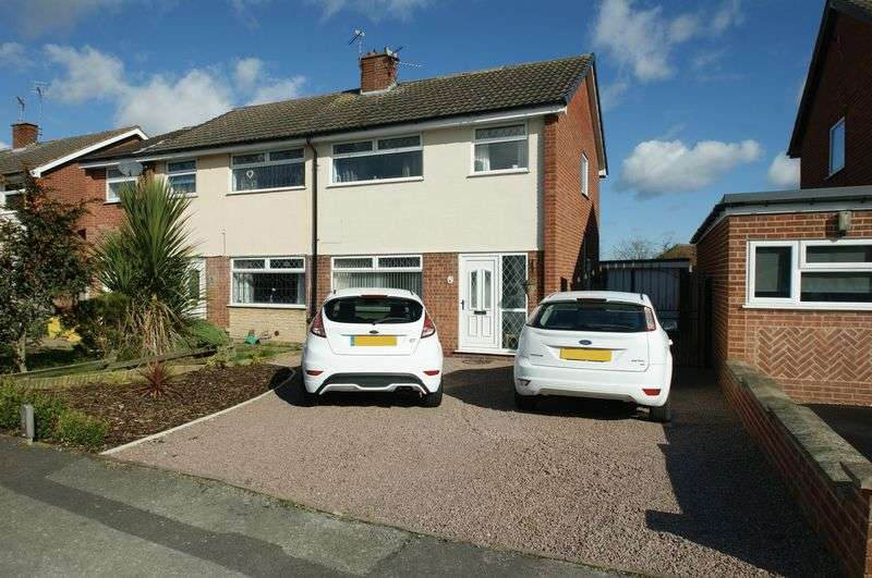 3 Bedrooms Semi Detached House for sale in Hatfield Close, Rainworth