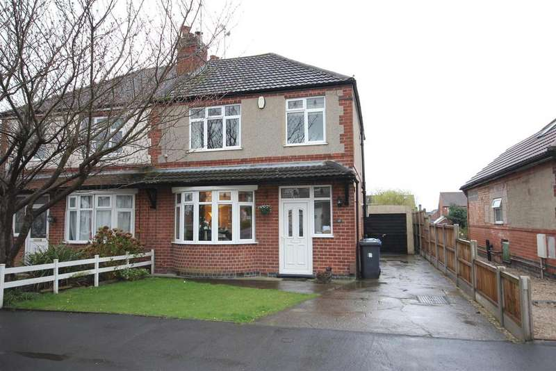 3 Bedrooms Semi Detached House for sale in Haven Baulk Avenue, Littleover, Derby